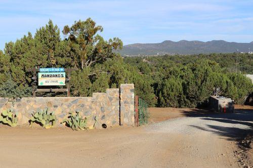 entrance to Manzano